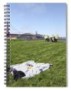 Picnicking At Golden Gate Park Spiral Notebook