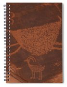 Pictograph 2 Spiral Notebook