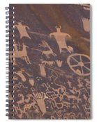 Pictographs 1 Spiral Notebook