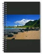 Picture Perfect Haena Beach Spiral Notebook