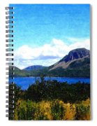 Picture Perfect In Painterly Style Spiral Notebook