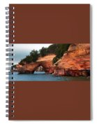 Pictured Rocks Spiral Notebook