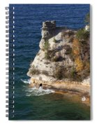 Pictured Rocks National Lakeshore 2 Spiral Notebook