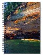 Pictured Rocks National Lakeshore, Lake Spiral Notebook