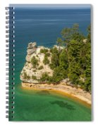Pictured Rocks National Lakeshore Spiral Notebook