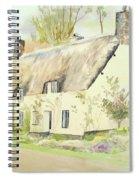 Picturesque Dunster Cottage Spiral Notebook