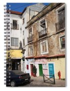Picturesque Houses In Lisbon Spiral Notebook