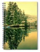 Picturesque Norway Landscape Spiral Notebook
