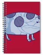 Piddle Valley Pig Spiral Notebook