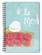 Pie A La Mode Spiral Notebook
