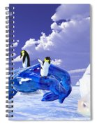 Piece Of Ice Spiral Notebook