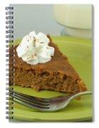 Piece Of Pumpkin Pie Spiral Notebook