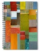 Pieces Parts Lll Spiral Notebook
