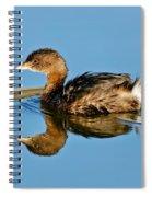 Pied-billed Grebe Spiral Notebook