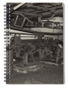 Pier 39 Astoria Oregon2  Spiral Notebook