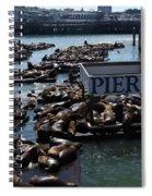 Pier 39 San Francisco Bay Spiral Notebook