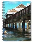 Pier 60 - Clearwater Florida  Spiral Notebook