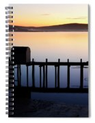 Pier At Bodega Bay California Spiral Notebook