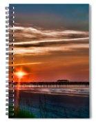 Pier At Dawn 167 Spiral Notebook