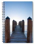 Pier By Sea Spiral Notebook