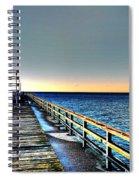 Pier - Chesapeake Bay Bridge #1 Spiral Notebook