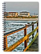 Pier Fishing 2 Spiral Notebook