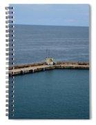 Pier Less Traveled Spiral Notebook