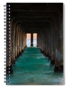 Pier Pylons Spiral Notebook