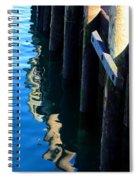 Pier Reflection Spiral Notebook