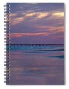 Pier Sunset Spiral Notebook