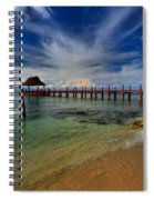 Pier To Paradise Spiral Notebook