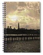 Pier View 1 Spiral Notebook