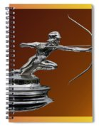 Pierce Arrow Hunter Mascot Spiral Notebook