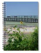 Piering Through Ll Spiral Notebook
