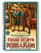 Pierre Of The Plains  Spiral Notebook