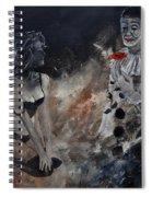 Pierrot Lunaire Spiral Notebook