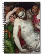 Pieta And Angels Spiral Notebook