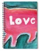 Pig Love Spiral Notebook