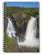 Pigeon River High Falls 11 Spiral Notebook