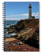 Pigeon Point Lighthouse Vertical Spiral Notebook