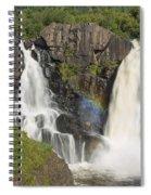 Pigeon River High Falls 4 Spiral Notebook