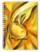 Piggy Bank Spiral Notebook