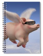 Pigs Fly Spiral Notebook