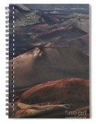Pihanakalani Haleakala Volcano Sacred House Of The Sun Maui Hawaii Spiral Notebook