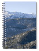 Pike National Forest In Snow Spiral Notebook