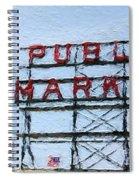 Pike Place Market Spiral Notebook