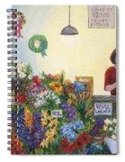 Pikes' Flower Market Spiral Notebook