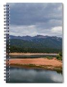 Pikes Peak From Crystal Creek Reservoir  Spiral Notebook