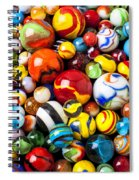 Pile Of Marbles Spiral Notebook