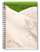 Pile Of Sand Spiral Notebook